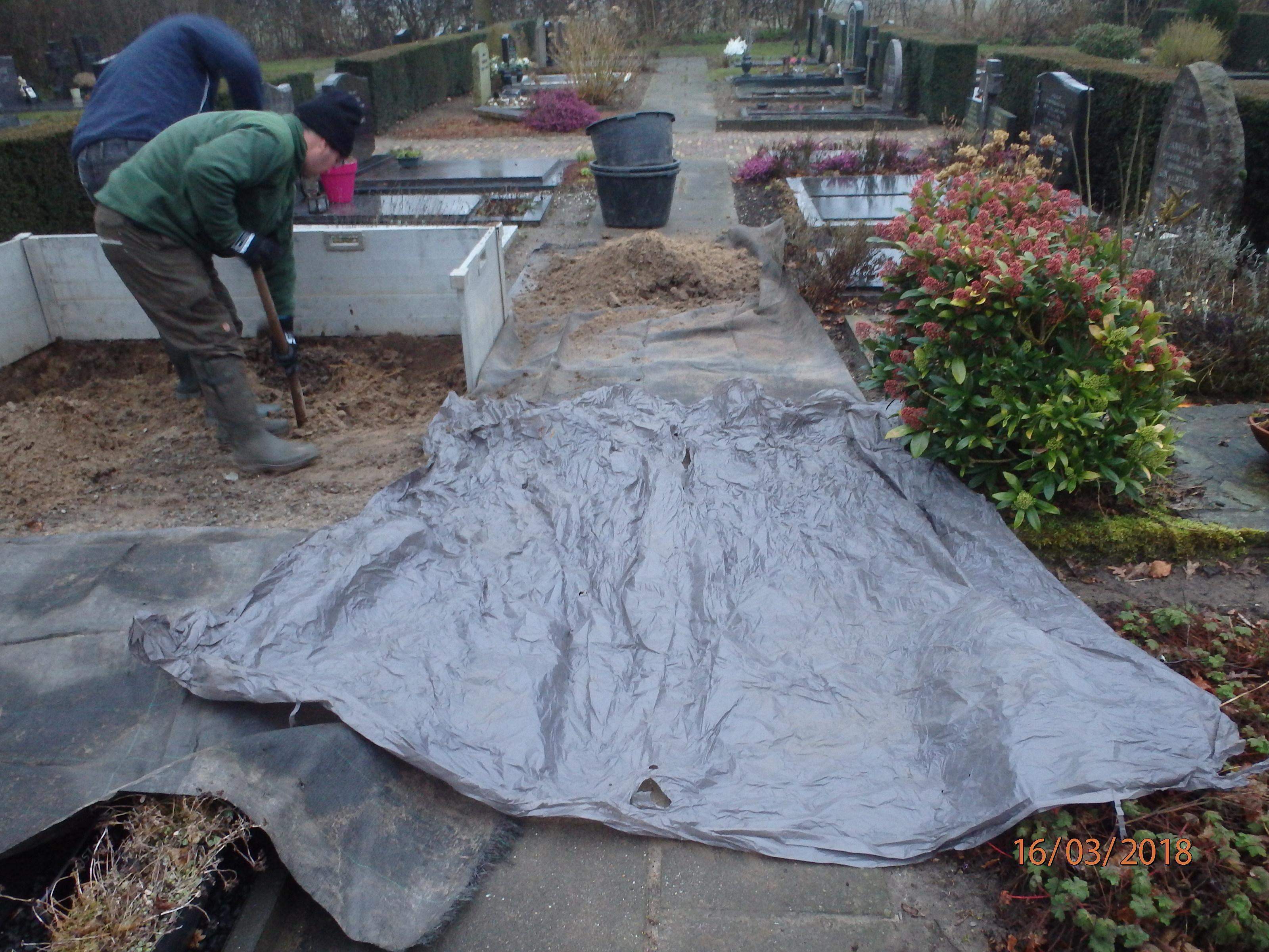 Individuele ruiming / Voorbereidende werkzaamheden